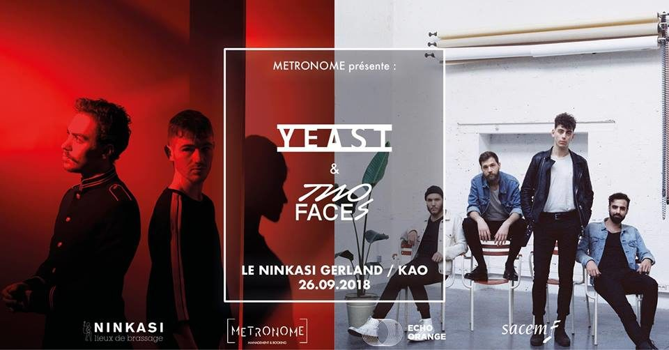 21 ans : YEAST + Two Faces - Double Release Party [Gratuit]
