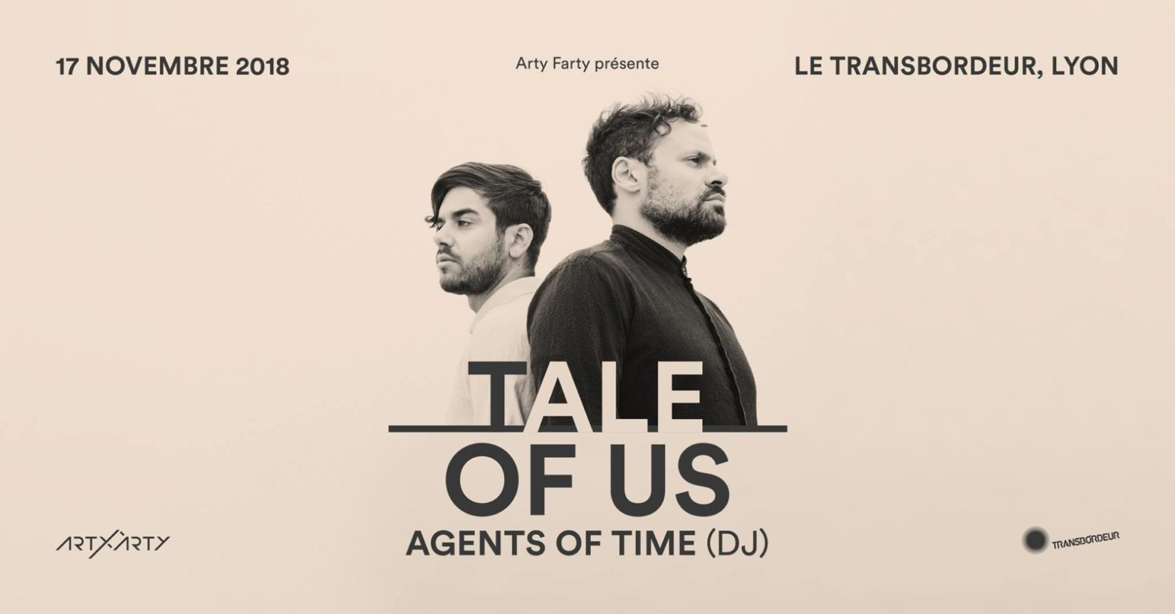 Tale Of Us + Agents Of Time (dj) - Transbordeur - Lyon