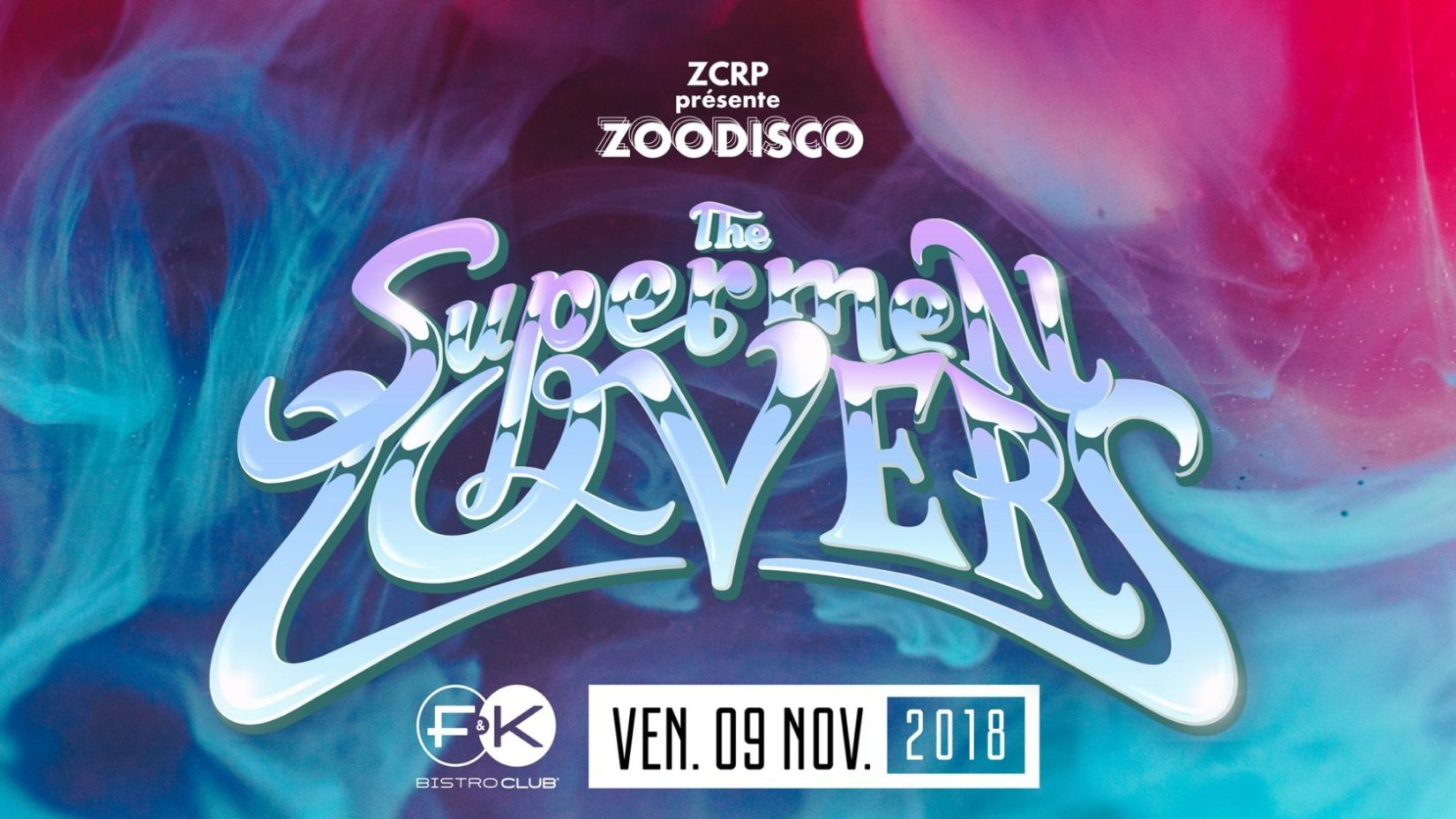 ZooDisco avec The Supermen Lovers !