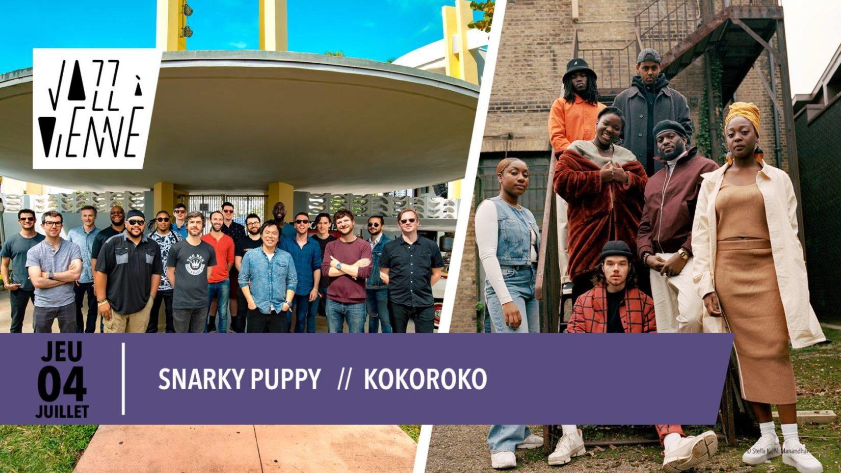 Snarky Puppy // Kokoroko • Jazz à Vienne 2019