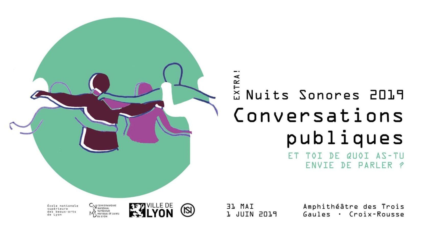 Extra! Nuits Sonores 2019 - Conversations Publiques