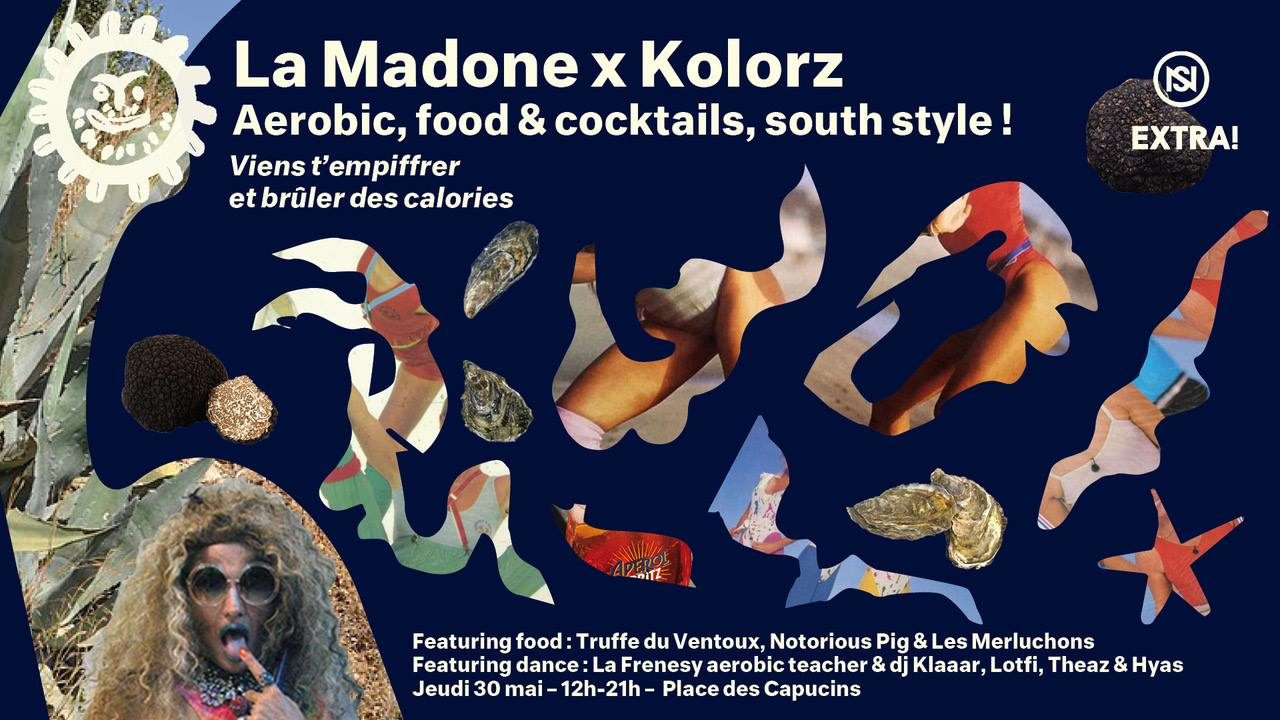 Extra ! Nuits Sonores : La Madone x Kolorz Festival