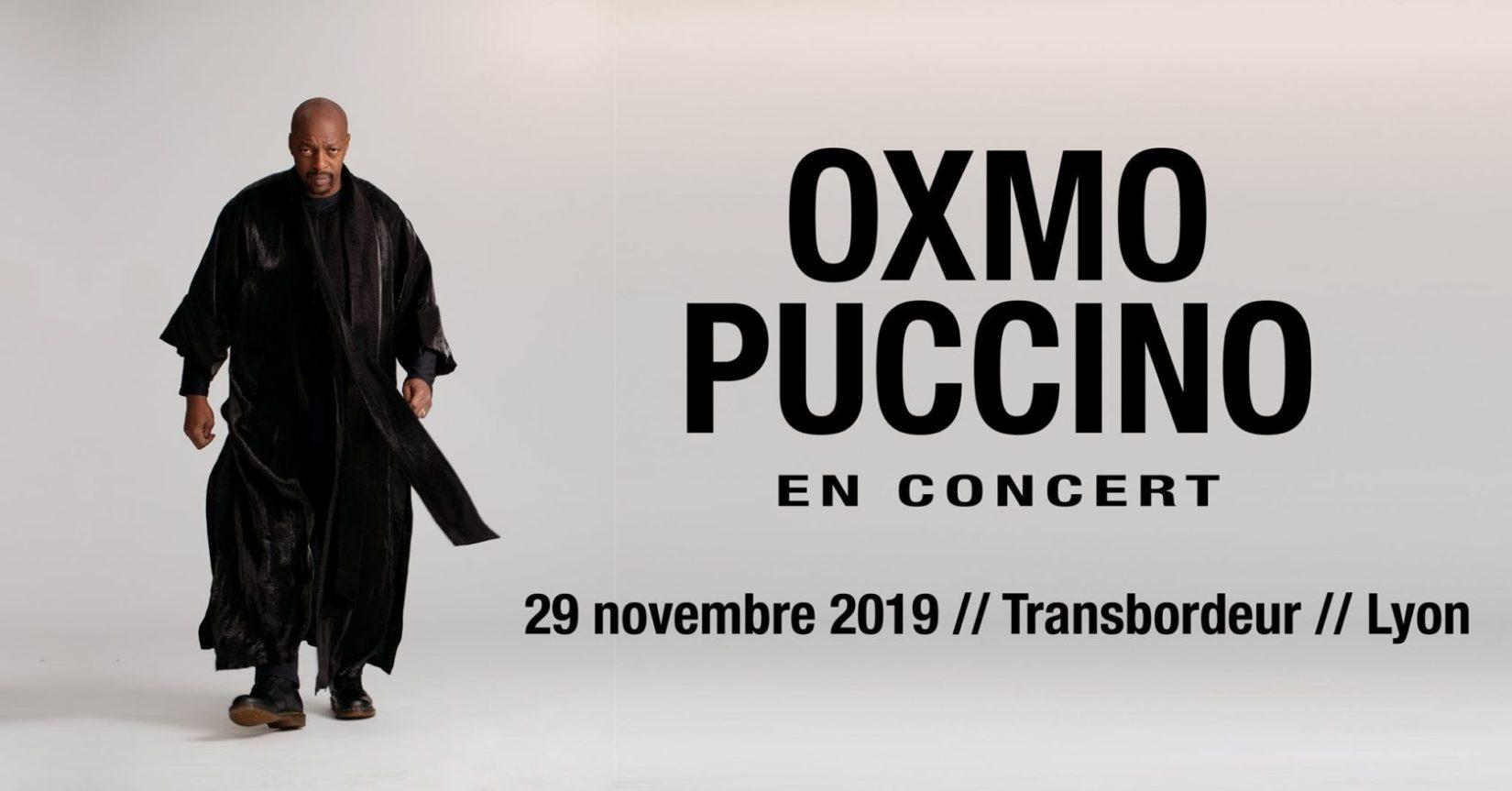 Oxmo Puccino Lyon