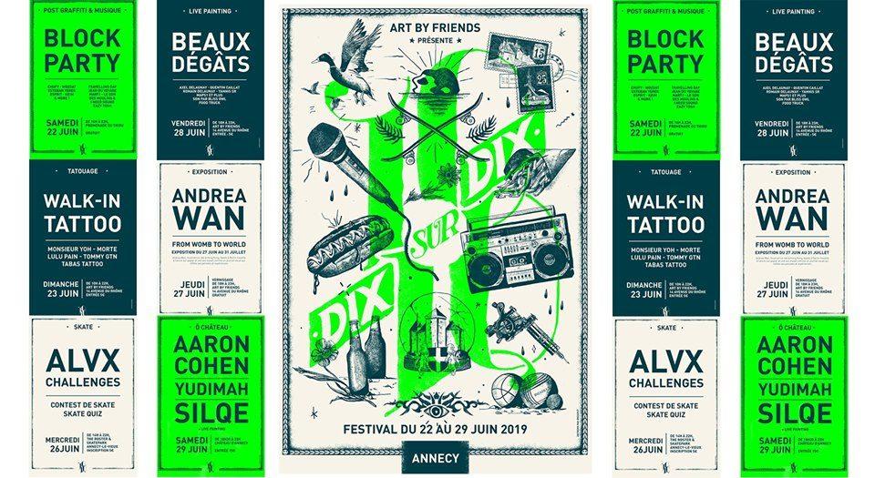 Festival 10/10 - Art By Art By Friends