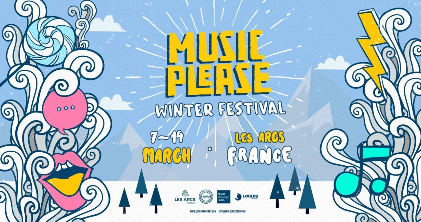 Music Please Winter Festival 7 au 14 mars Les Arcs - France