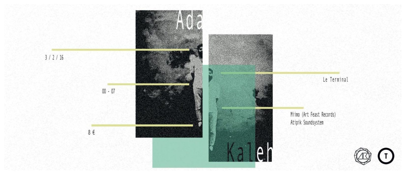 Atipik present Ada Kaleh (Live & DJ Set), Miimo, ALI & ki.fran