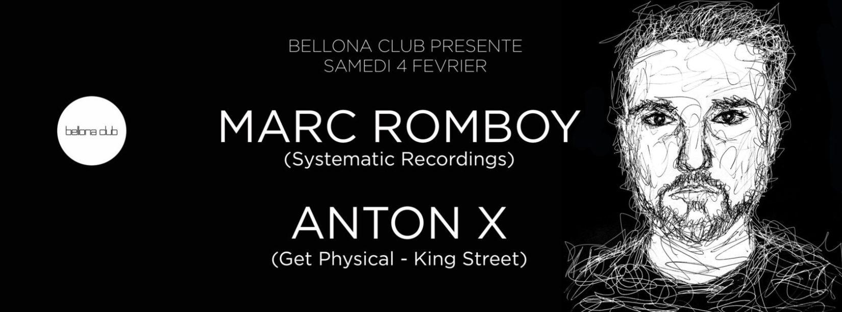 Bellona Club présente Marc Romboy Anton X