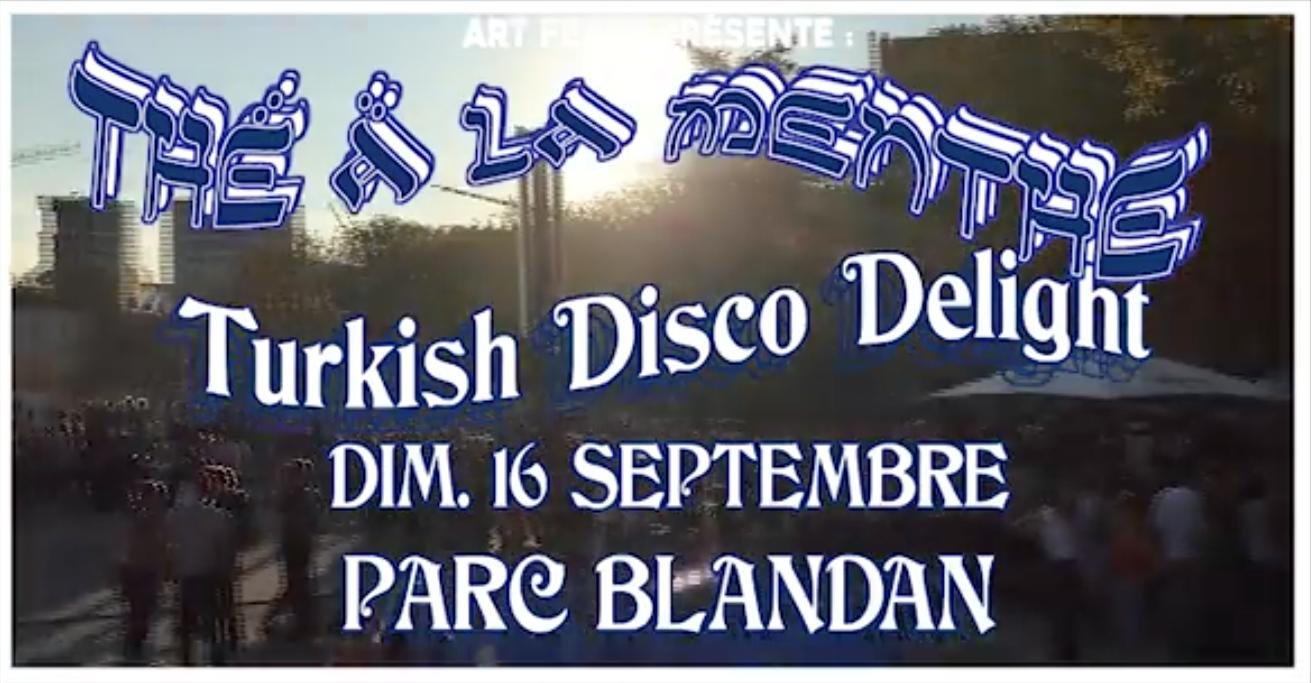 Thé à la menthe : Turkish Disco Deligh