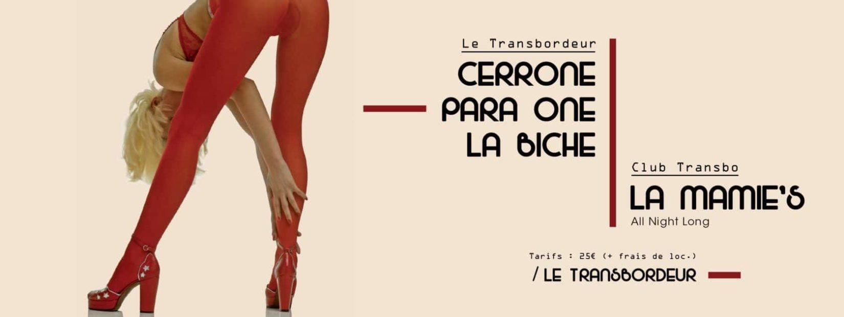 cover concert para one cerrone