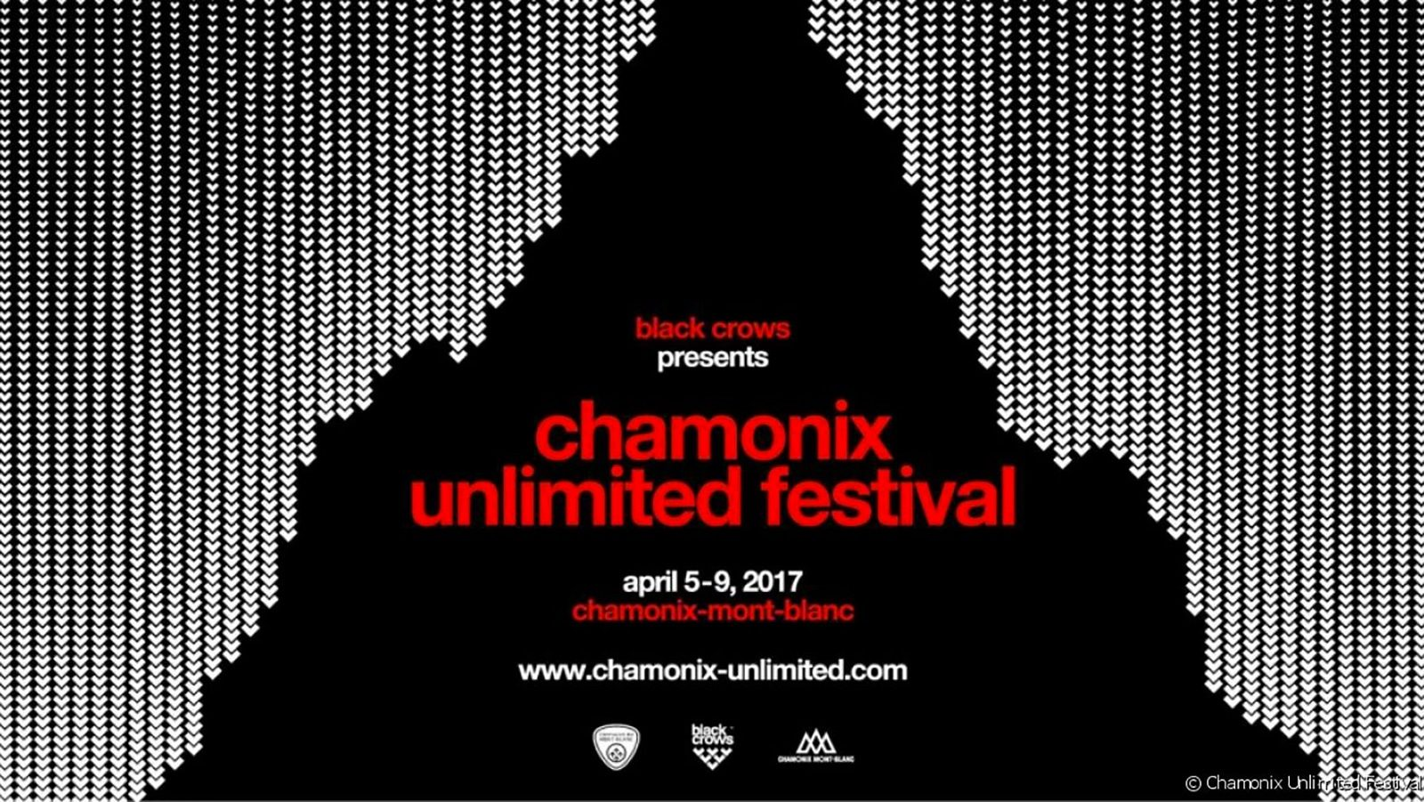 Chamonix unlimited festival 2017 en avril
