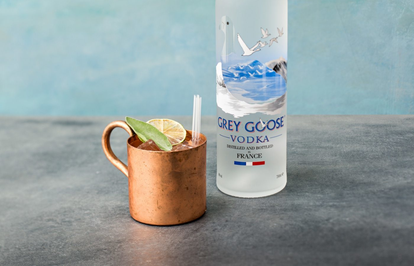 cocktail grey south mule
