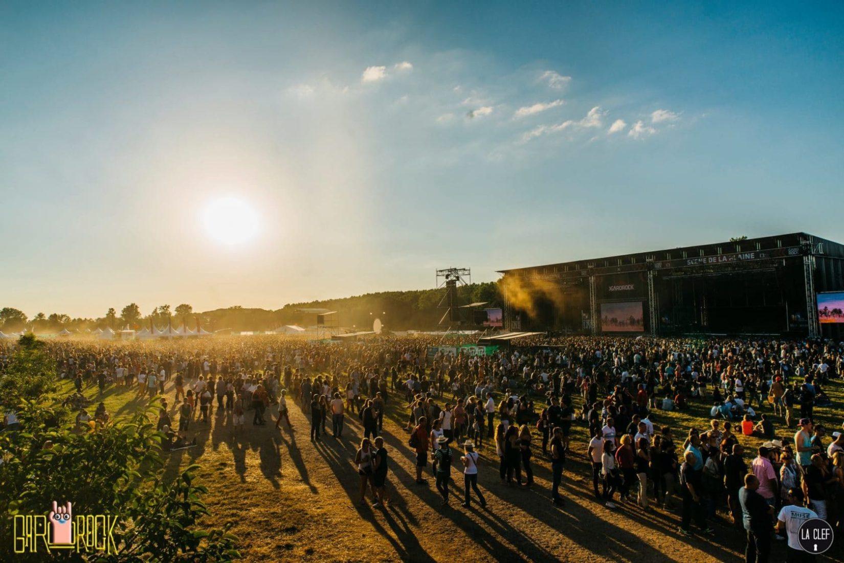 Garorock 2016 festival Heure Bleue