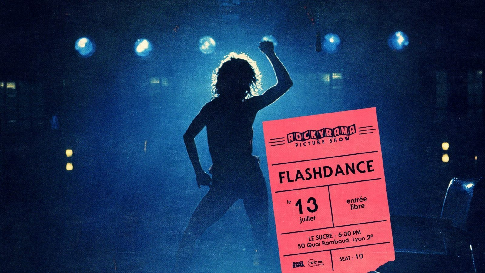 cover event flashdance au sucre