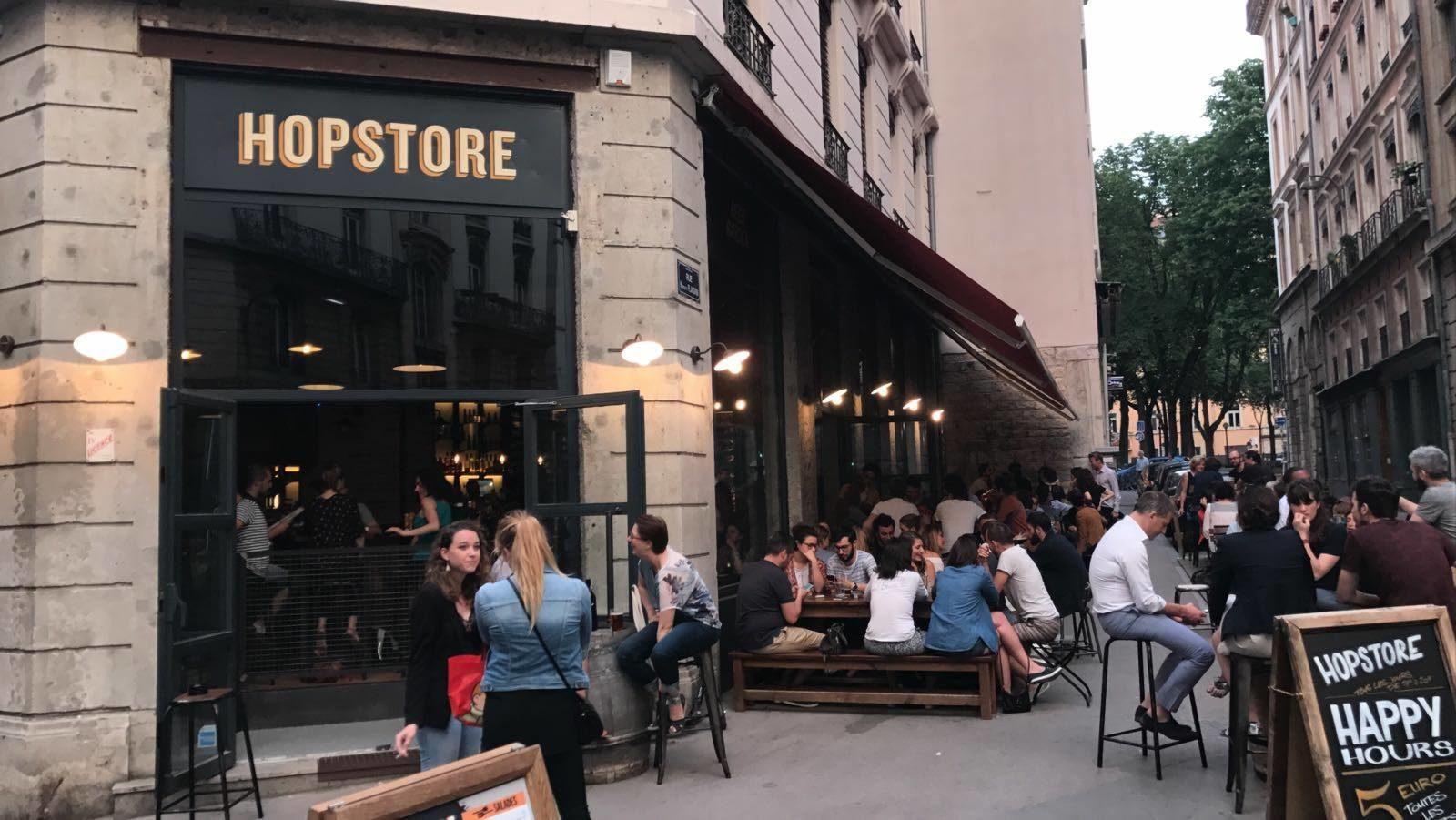 Le Hopstore, nouveau bar à bières à Lyon