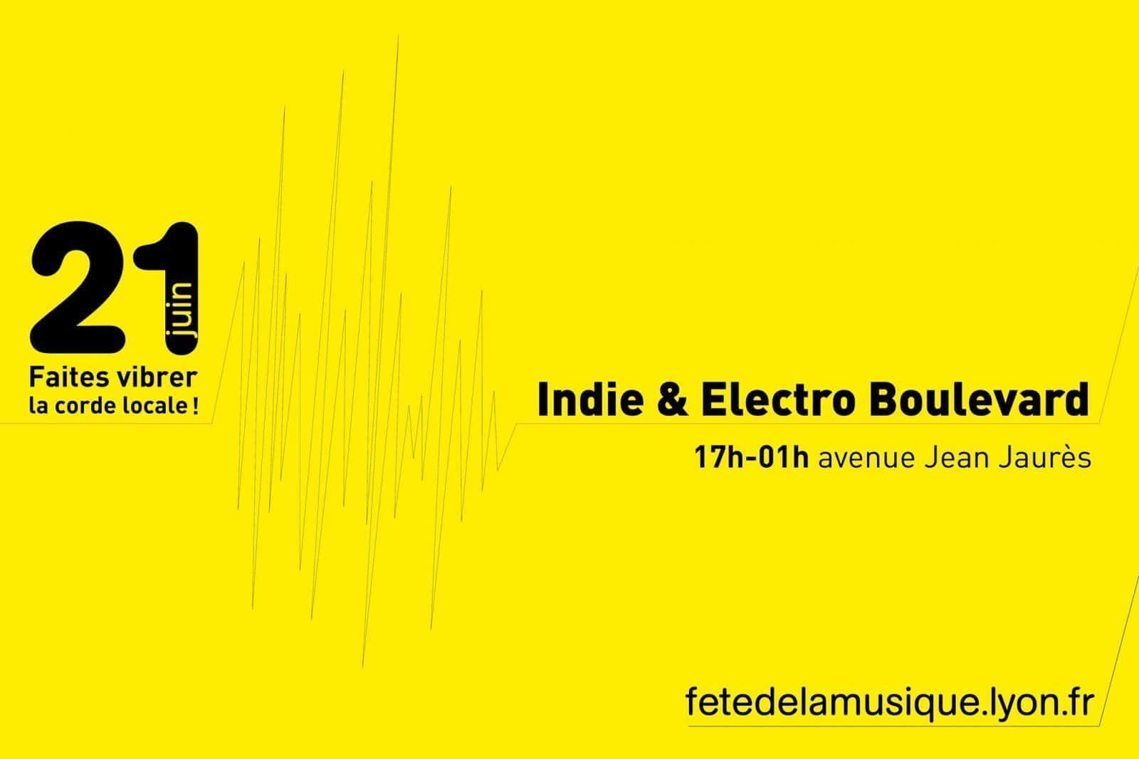 cover évènement Inide&Electro Boulevard Fête de la Musique Lyon