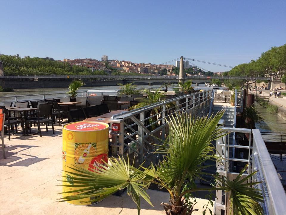 la barge terrasse