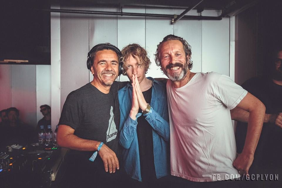 photo laurent garnier daniel avery dj harvey