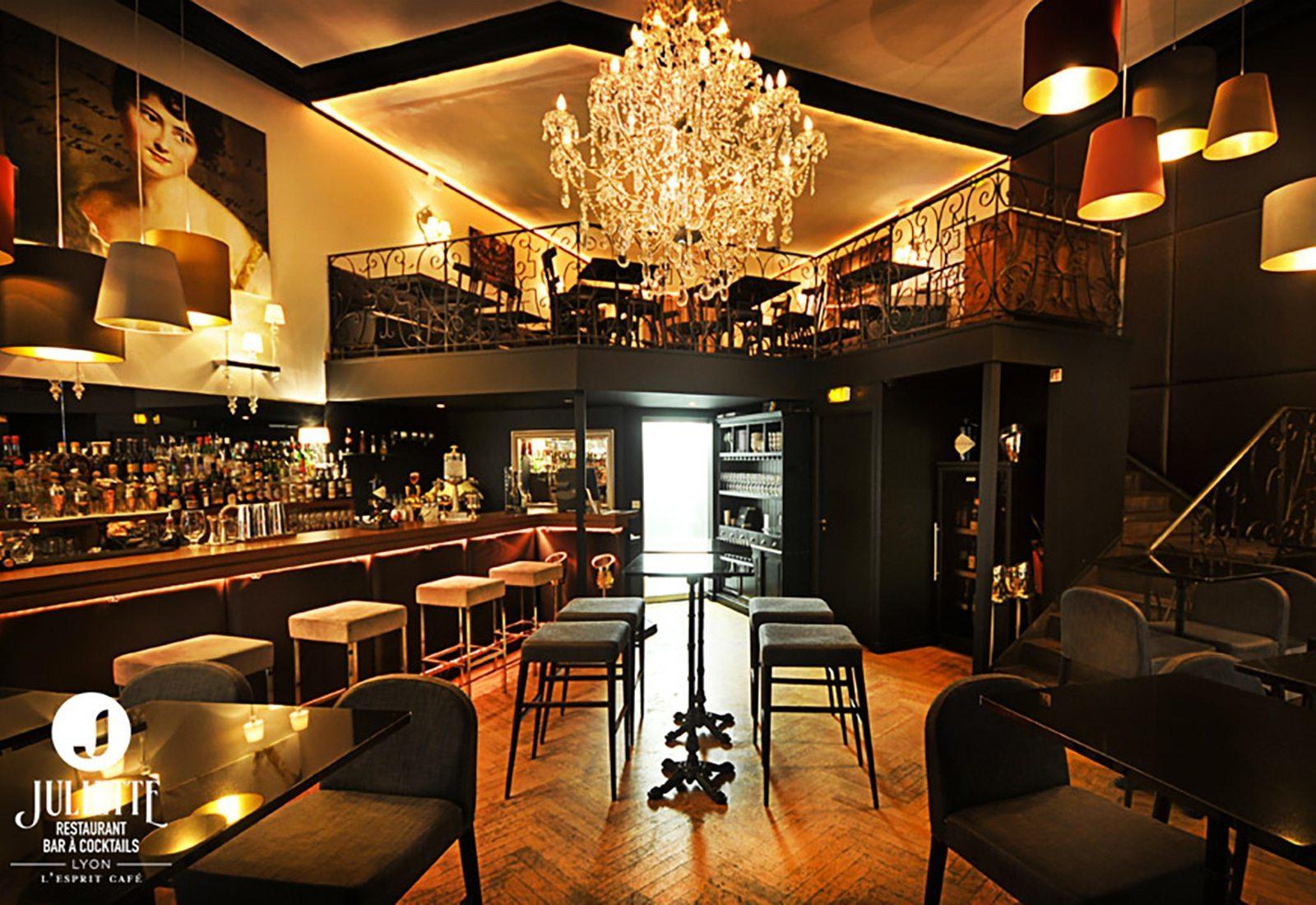 Lyon, les Brotteaux et le charme du Café Juliette avec ses délicieux cocktails