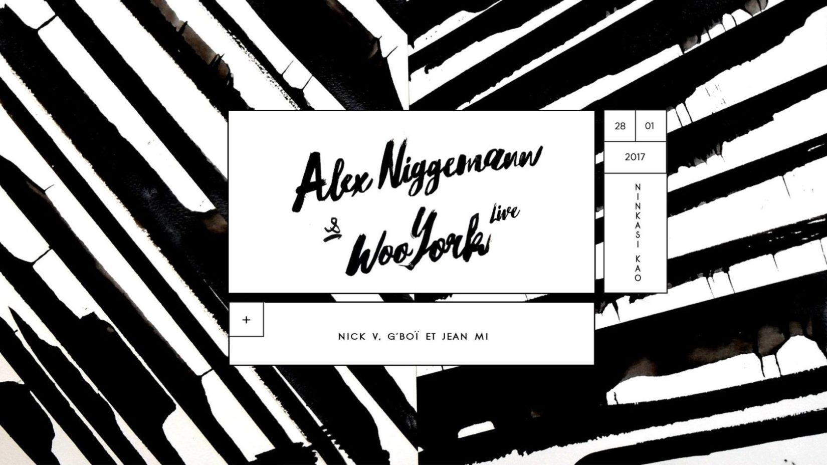 Omā avec Alex Niggemann, Woo York & Nick V