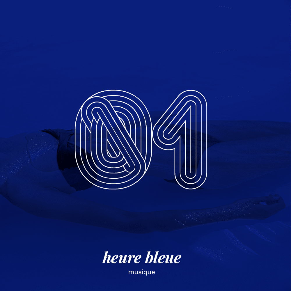 cover playlist Heure Bleue