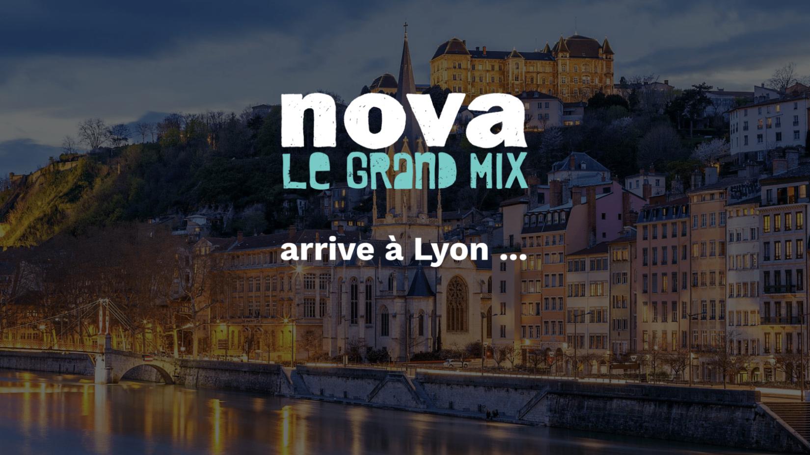 Radio Nova s'installe à Lyon !