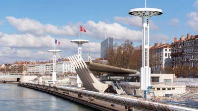 La piscine du Rhône, lieu immanquable à Lyon.