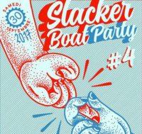 Slacker boat party #4 w/ Mountain bike, Bøbine Club rock