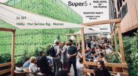 Rooftop PARTY // Super5 s'invite au MOB HOTEL