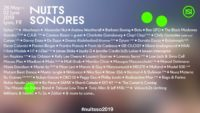 nuits sonores 2019
