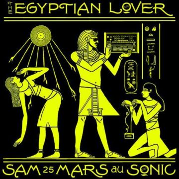 On the Nile with Egyptian LOVER