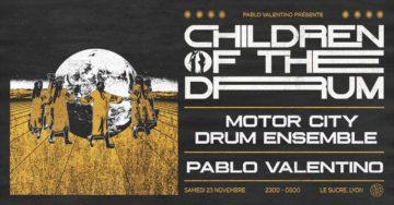 Children Of The Drum: Motor City Drum Ensemble & Pablo Valentino