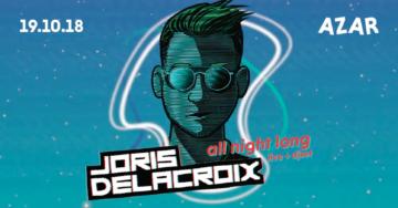 Joris Delacroix Live + Dj set
