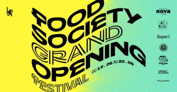 FOOD SOCIETY _ GRAND OPENING FESTIVAL