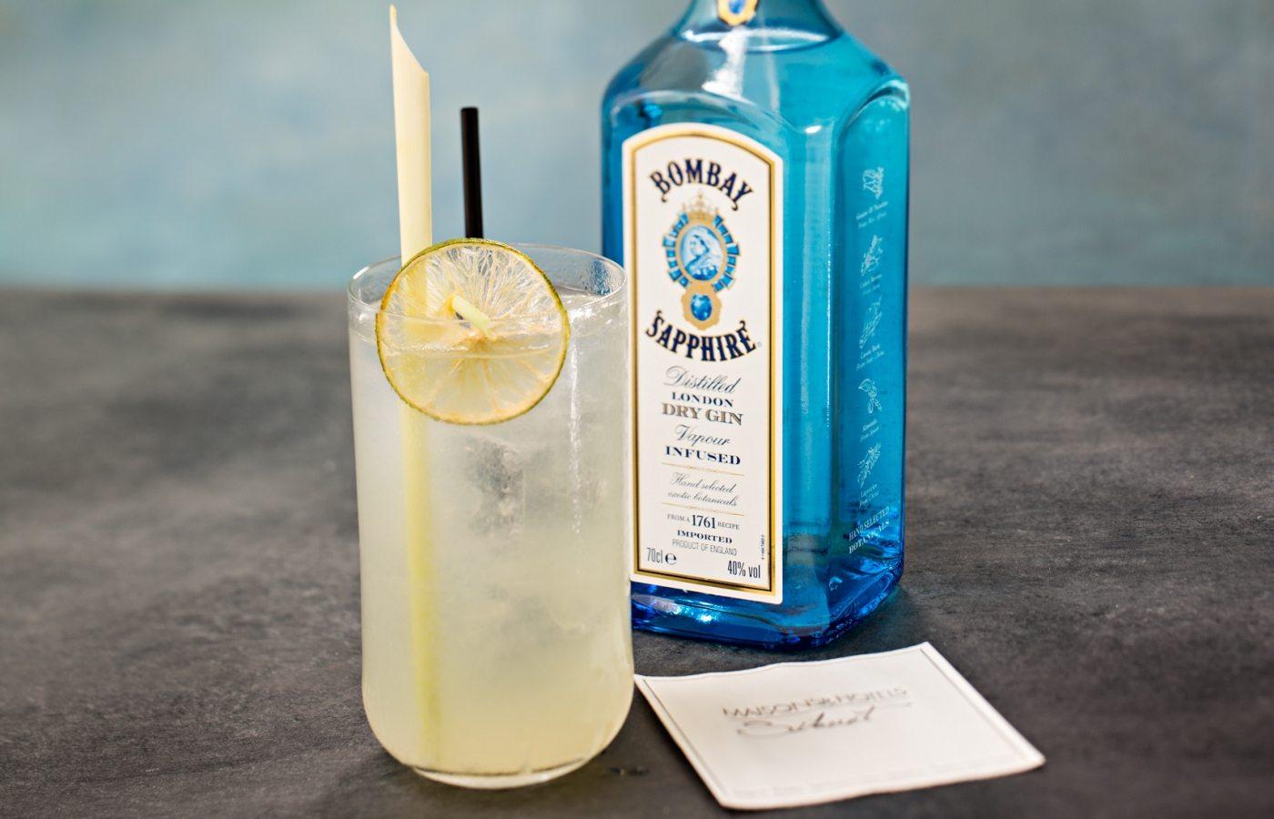 cocktail ginger fizz