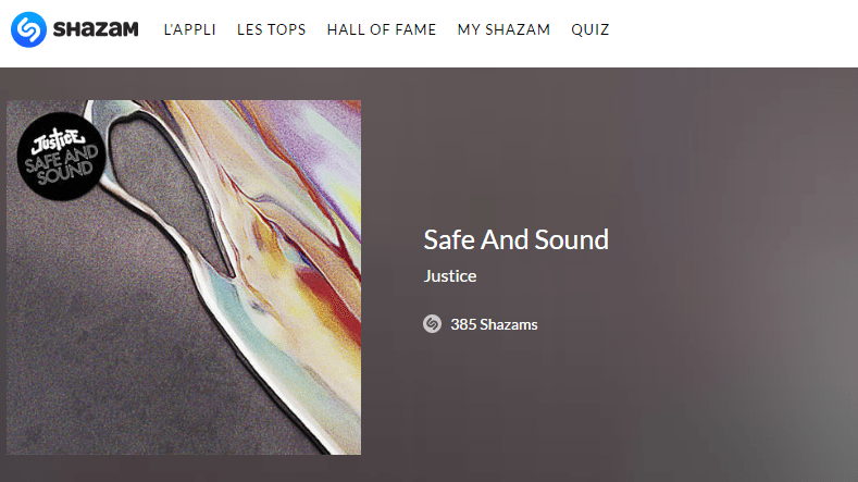 shazam safe and sound justice