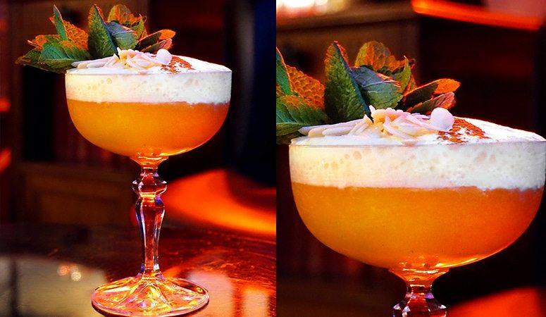 """Un cocktail un son #4 présente l'histoire du cocktail """"La fille de 18h1é"""" servi au Fantôme de l'Opéra à Lyon"""
