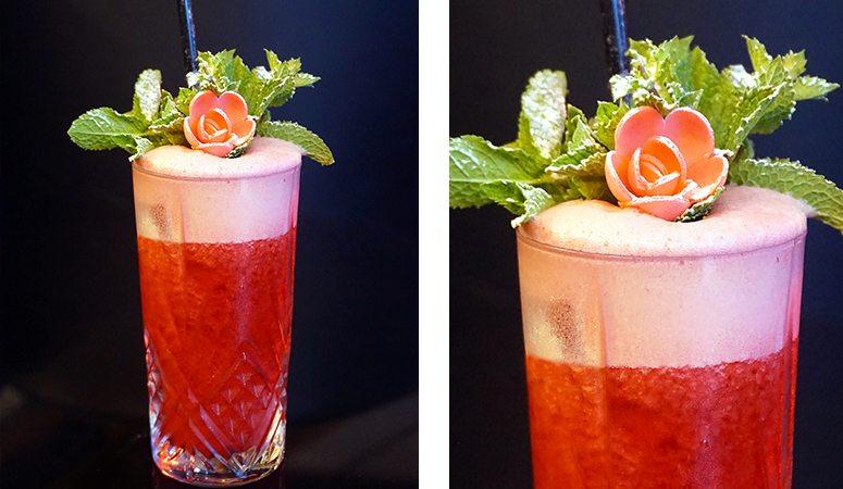Un cocktail, un son vous lève le voile sur l'histoire du Salomé, cocktail servi au Fantôme de l'Opéra à Lyon.