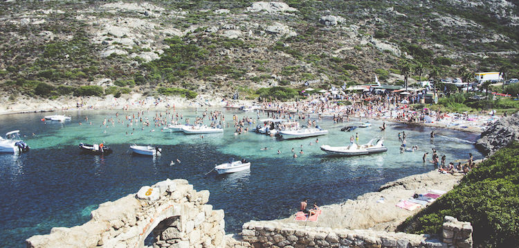 calanque Calvi On the Rocks festival