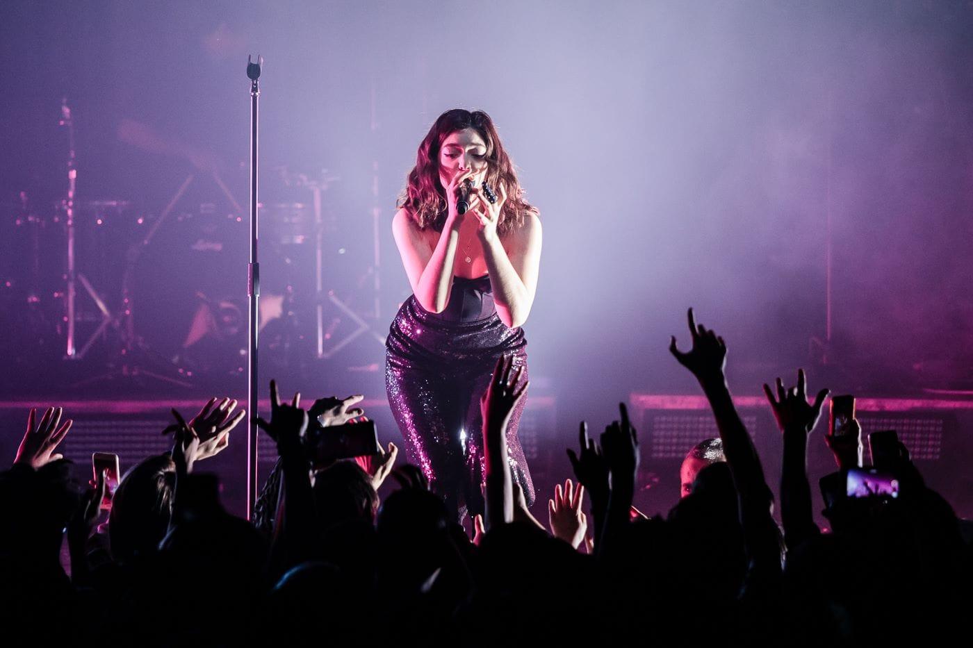 Lorde en concert au Transbordeur // octobre 2017