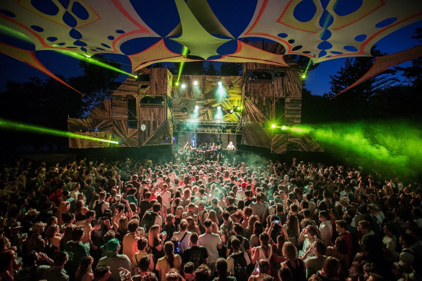 festival evasion 2019 scène trance