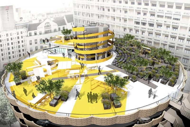 rooftop lyon Mengzhi Zheng