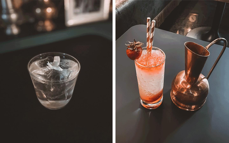 Les cocktails du bar La Baignoire à la Guillotière
