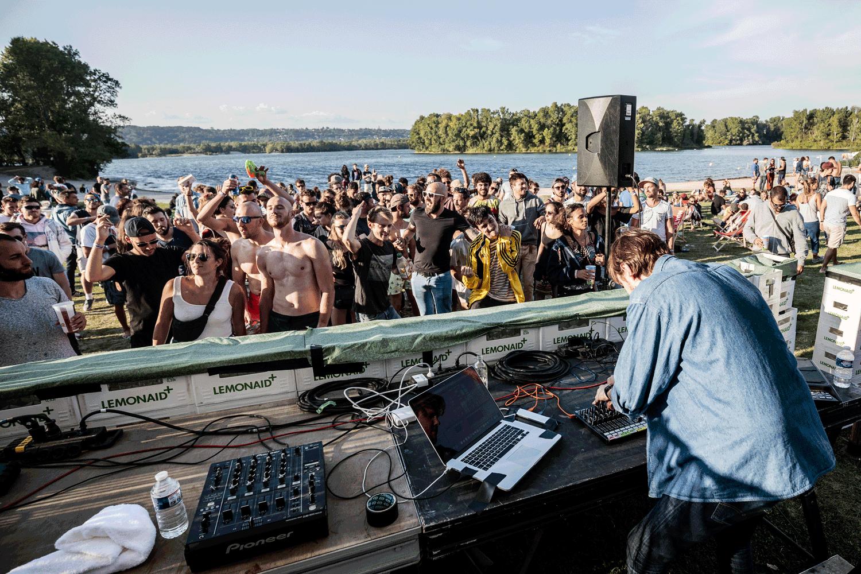 Woodstower 2021 concert sur la plage © Brice ROBERT